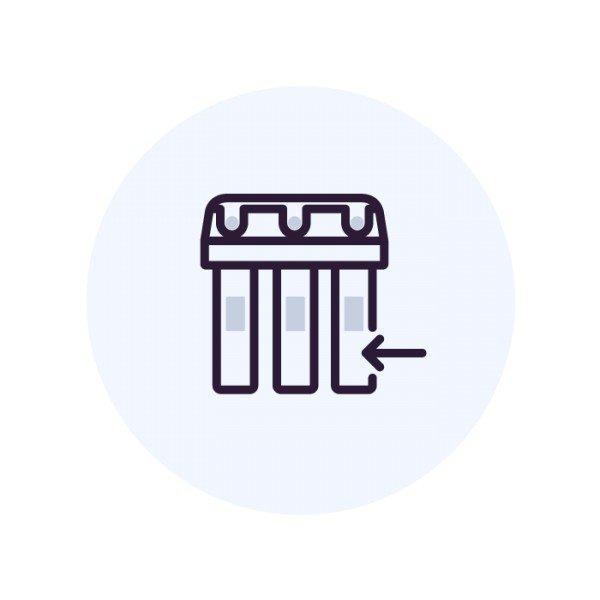 Установка системы обратного осмоса Аквафор